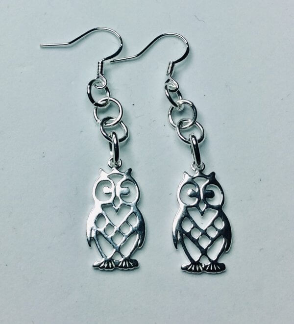 sterling silver owls