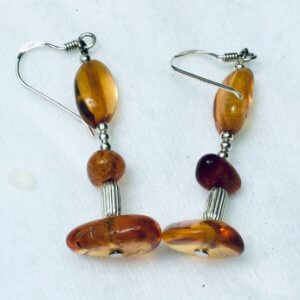 Baltic Amber, sterling silver