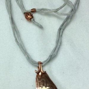 Copper Etched, silk