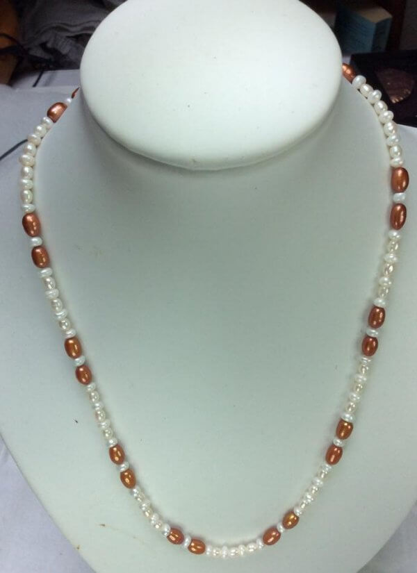 freshwater pearl, silver