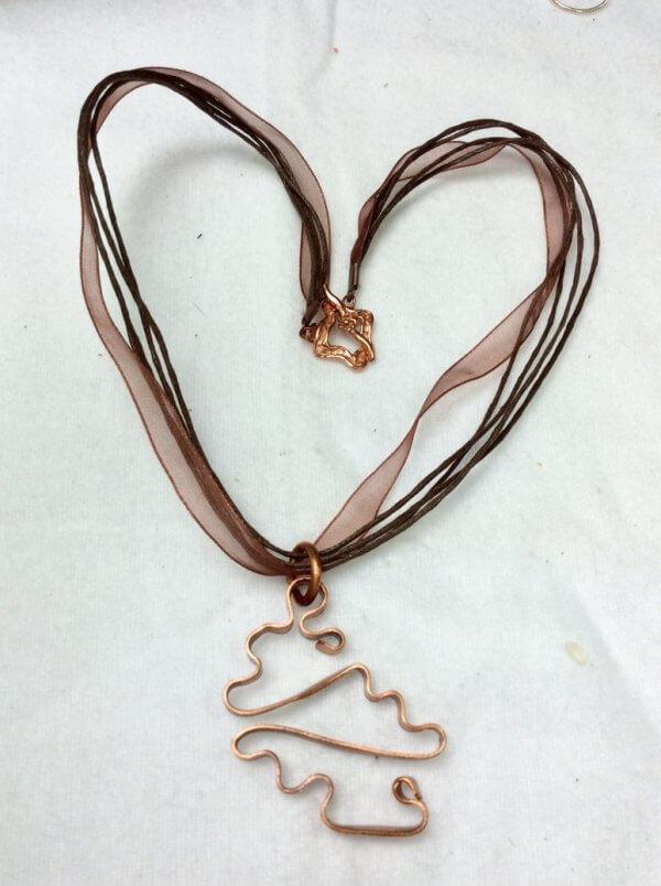 copper, silk