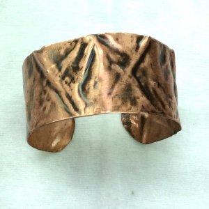 Copper Foldformed bangle