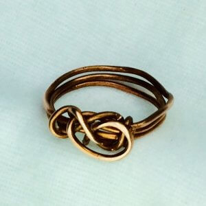 Copper wire ring(recycled copper)