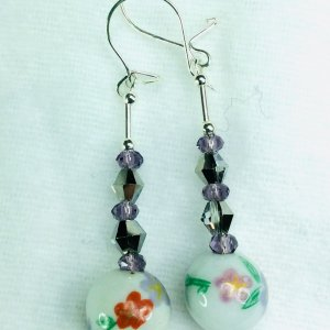 Handcrafted chinese porcelain, chinese crystal, sterling silver