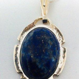 Lapis Lazuli, sterling silver