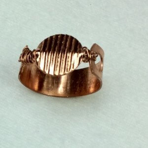 copper ring (recycled copper)