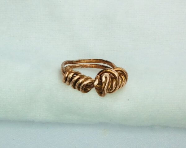 Copper wire ring ( recycled)