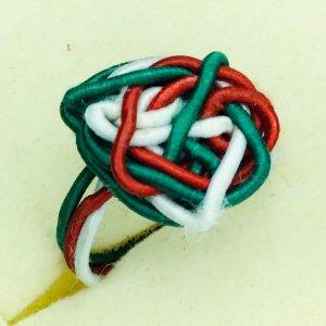 Silk covered artistic wire