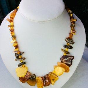 Baltic Amber, mixed colors