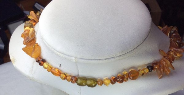 Baltic Amber, mixed colors