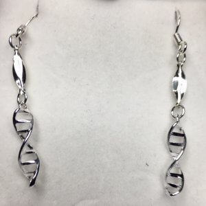 Sterling Silver Helix drop with Sterling Silver Hook Earwires