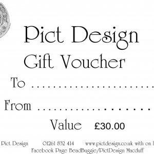 Gift Voucher £30.00